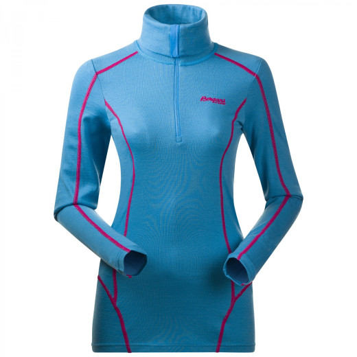 Bluza de corp Bergans Krekling Half-Zip Lady