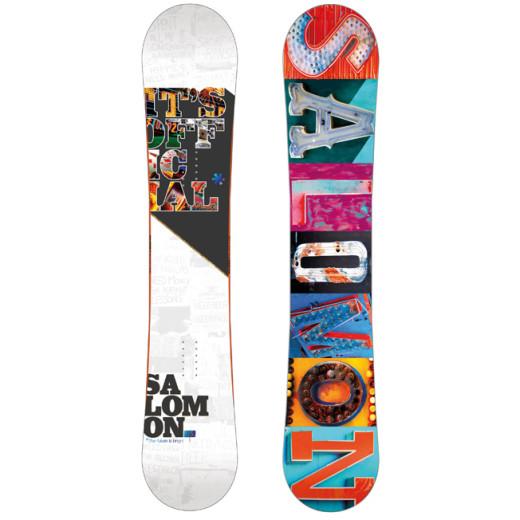 Placa Snowboard Salomon Official 155