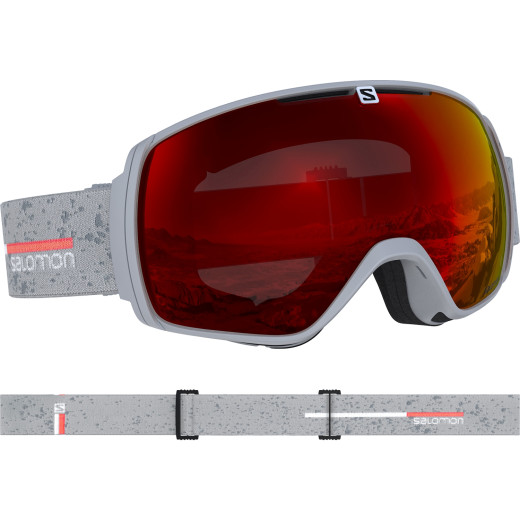Ochelari Ski Salomon Xt One Grey matt/Univ.Mid Red Unisex