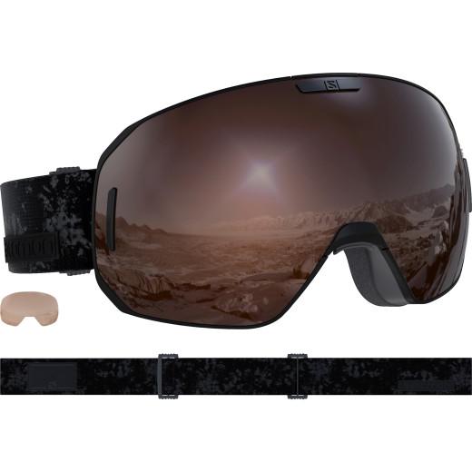 Ochelari Ski Salomon S/Max Access Bk/Solar Mirror