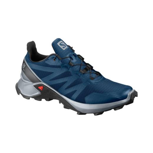 Pantofi Alergare Barbati Salomon  Supercross Poseidon/Pearl Blue/Bk