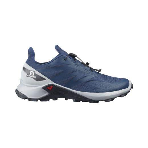 Salomon Pantofi Alergare Barbati SUPERCROSS BLAST Albastru