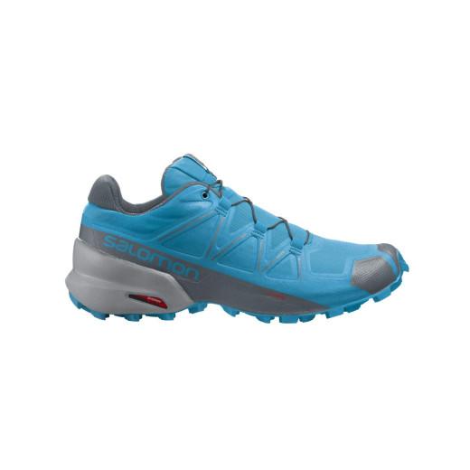 Salomon Pantofi Alergare Barbati SPEEDCROSS 5 Albastru