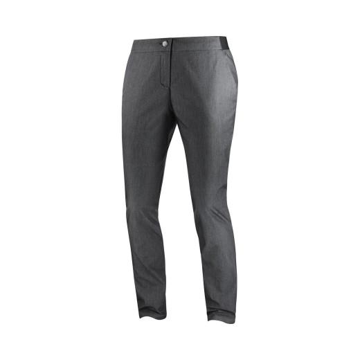 Pantaloni Activitati urbane Femei Salomon Wayfarer Tapered Denim Pa Black Heather