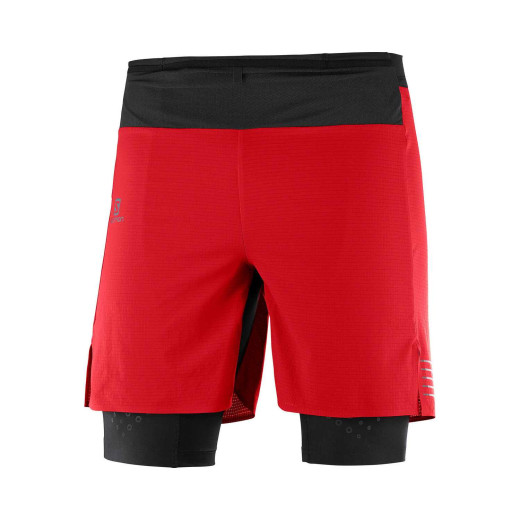 Sort Alergare Unisex Exo Motion Twinskin Short Goji Berry