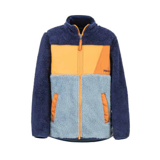 Polar Copii Marmot Boy's Roland Fleece Blue Granite/Arctic Navy