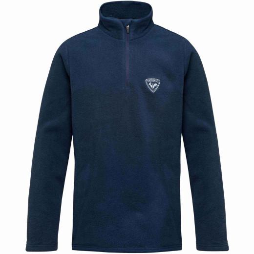 Bluza First Layer Copii Rossignol Boy 1/2 Zip Fleece Dark Navy