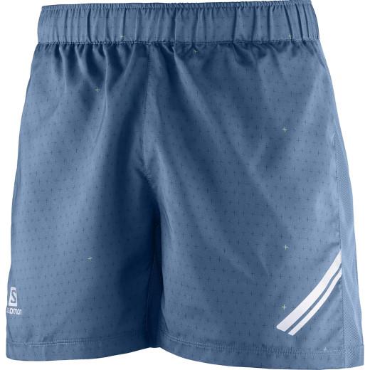 Pantaloni Alergare Salomon Agile Short Tight Barbati