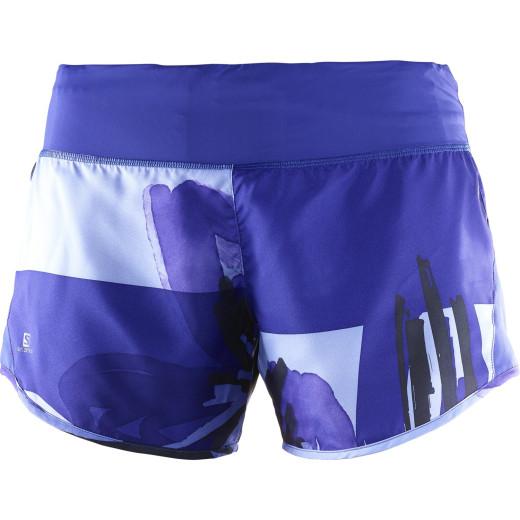 Pantaloni Alergare Salomon Elevate 2In1 Short Femei