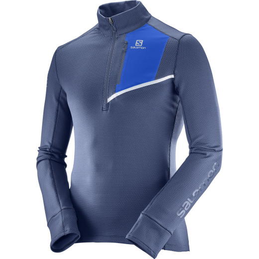 Fleece Salomon Fast Wing Mid Barbati