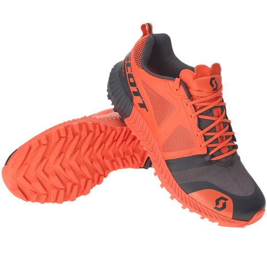 Pantofi Alergare Barbati Trail Scott Kinabalu Portocaliu / Negru