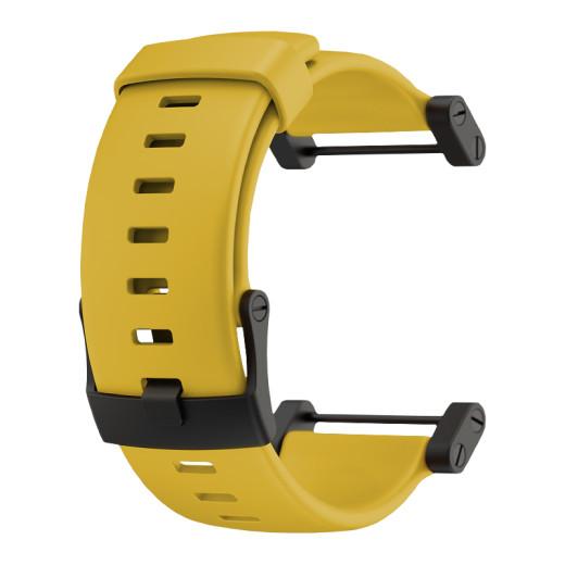 Curea Suunto Core Yellow Rubber Strap