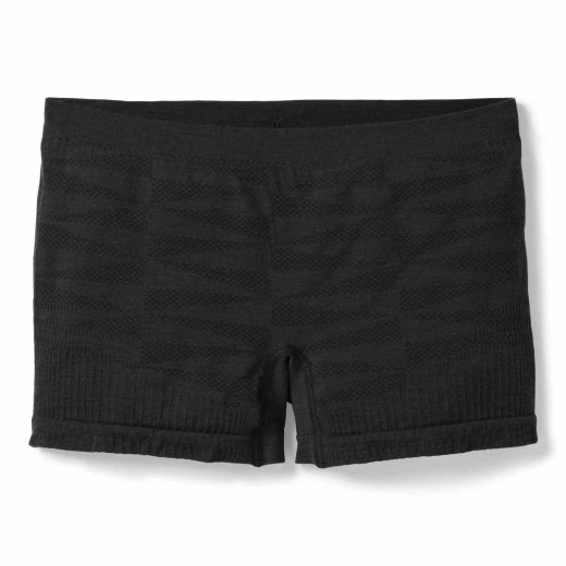 Boxeri Femei Smartwool PHD Seamless Boy Short Black