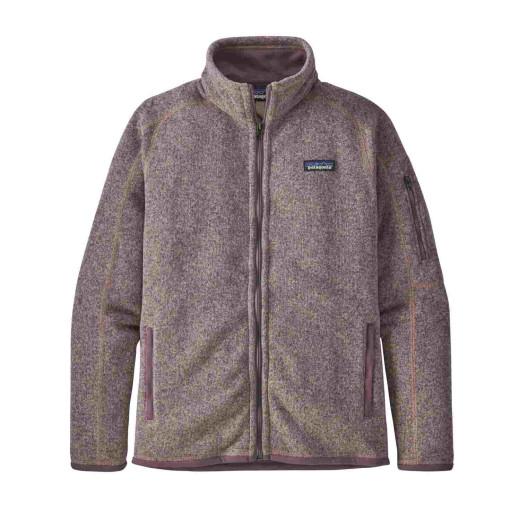 Polar Drumetie Femei Patagonia Better Sweater Jkt Hazy Purple