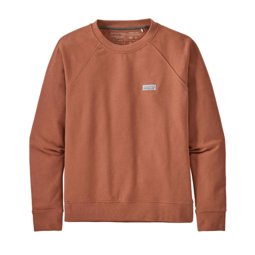 Bluza Femei Patagonia Pastel P-6 Label Organic Crew Sweatshirt Century Pink