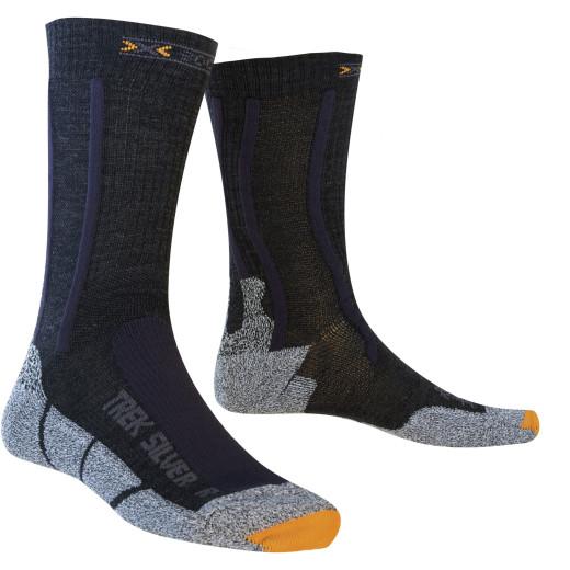 Sosete X-Socks Trekking Silver