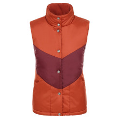 Vesta Femei The North Face Sylvester Vest Picant Red/Deep Garnet Red Vesta Femei The North Face Sylvester Vest Picant Red/Deep Garnet Red