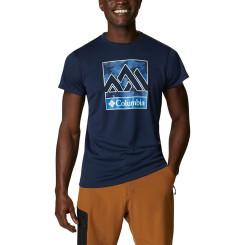 Tricou Drumetie Barbati Columbia Zero Rules Short Sleeve Graphic Shirt Albastru Tricou Drumetie Barbati Columbia Zero Rules Short Sleeve Graphic Shirt Albastru