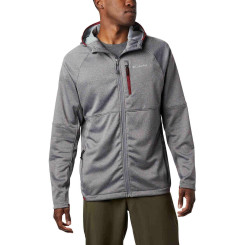 Polar Barbati Columbia Outdoor Elements Hooded Full Zip Gri Polar Barbati Columbia Outdoor Elements Hooded Full Zip Gri