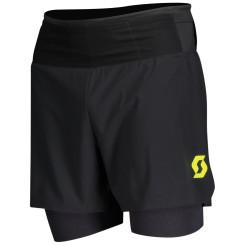 Pantaloni Scurti Alergare Barbati Scott RC Run Negru Pantaloni Scurti Alergare Barbati Scott RC Run Negru