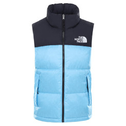 Vesta Puf Activitati Urbane Femei The North Face W 1996 Retro Nuptse Vest Ethereal Blue Vesta Puf Activitati Urbane Femei The North Face W 1996 Retro Nuptse Vest Ethereal Blue