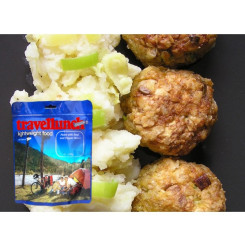 Travellunch Aliment instant Meatballs&Mash Potato 125g 50140 E Travellunch Aliment instant Meatballs&Mash Potato 125g 50140 E
