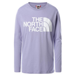 Bluza Casual Femei The North Face Standard Ls Tee Mov Bluza Casual Femei The North Face Standard Ls Tee Mov