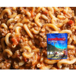 Travellunch Aliment Pasta with Beef and Pepper Sauce 250g 50239 E Travellunch Aliment Pasta with Beef and Pepper Sauce 250g 50239 E