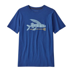 Tricou Drumetie Copii Patagonia Boys' Graphic Organic T-Shirt Superior Blue Tricou Drumetie Copii Patagonia Boys' Graphic Organic T-Shirt Superior Blue