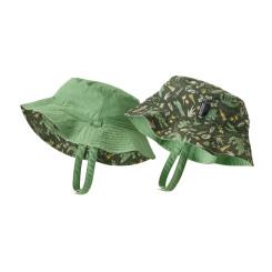 Palarie Drumetie Copii Patagonia Baby Sun Bucket Hat Kale Green