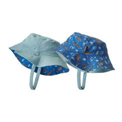 Palarie Drumetie Copii Patagonia Baby Sun Bucket Hat Bayou Blue Palarie Drumetie Copii Patagonia Baby Sun Bucket Hat Bayou Blue
