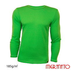 Bluza Barbati Merinito 185G 100% Lana Merinos Verde Bluza Barbati Merinito 185G 100% Lana Merinos Verde