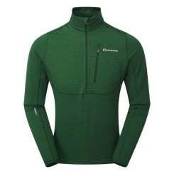 Bluza Polar Barbati Montane Power Up Pull On Arbor Green Bluza Polar Barbati Montane Power Up Pull On Arbor Green