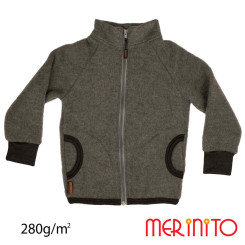 Bluza Copii Merinito Soft Fleece Lana Merinos Gri Bluza Copii Merinito Soft Fleece Lana Merinos Gri