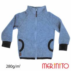 Bluza Copii Merinito Soft Fleece Lana Merinos Albastru Bluza Copii Merinito Soft Fleece Lana Merinos Albastru