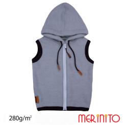 Vesta Copii Merinito Soft Fleece 100% Lana Merinos Albastru Vesta Copii Merinito Soft Fleece 100% Lana Merinos Albastru