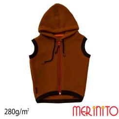 Vesta Copii Merinito Soft Fleece 100% Lana Merinos Maro Vesta Copii Merinito Soft Fleece 100% Lana Merinos Maro