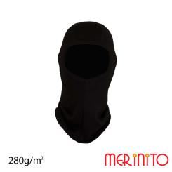 Cagula Copii Merinito 280G Lana Merinos Negru Cagula Copii Merinito 280G Lana Merinos Negru