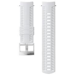 Curea Ceas Suunto 24mm Athletic 2 Silicon White / Steel M