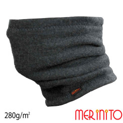 Caciula / Tub Unisex Merinito Soft Fleece 100% Lana Merinos Gri Caciula / Tub Unisex Merinito Soft Fleece 100% Lana Merinos Gri