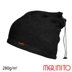 Caciula / Tub Unisex Merinito Soft Fleece 100% Lana Merinos Negru Caciula / Tub Unisex Merinito Soft Fleece 100% Lana Merinos Negru