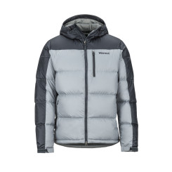 Geaca Puf Barbati Marmot Guides Down Hoody Grey Storm/Dark Steel Geaca Puf Barbati Marmot Guides Down Hoody Grey Storm/Dark Steel