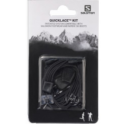 Siret Salomon Quicklace Kit Black Universal Siret Salomon Quicklace Kit Black Universal