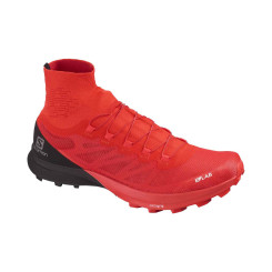 Pantofi Alergare Unisex Salomon  S/Lab Sense 8 Sg Racing Red/Bk/Wh Pantofi Alergare Unisex Salomon  S/Lab Sense 8 Sg Racing Red/Bk/Wh