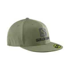 Sapca Barbati Salomon CAP LOGO CAP FLEXFIT OSFA Kaki Sapca Barbati Salomon CAP LOGO CAP FLEXFIT OSFA Kaki