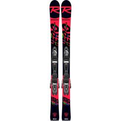 Skiuri cu Legaturi Copii Rossignol HERO JR MULTI-EVENT/XP 7 GW Multicolor Skiuri cu Legaturi Copii Rossignol HERO JR MULTI-EVENT/XP 7 GW Multicolor