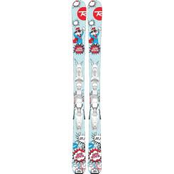 Skiuri cu Legaturi Copii Rossignol SUPER ROOSTIE KX/KID 4 GW W Multicolor Skiuri cu Legaturi Copii Rossignol SUPER ROOSTIE KX/KID 4 GW W Multicolor