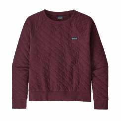 Bluza Femei Patagonia Organic Cotton Quilt Crew Chicory Red